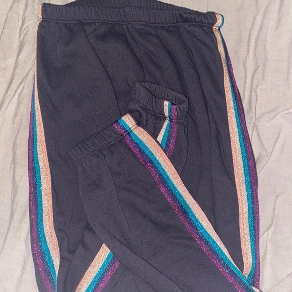 Spiritual Gangster Pants - spiritual gangster sweatpants rainbow sparkly